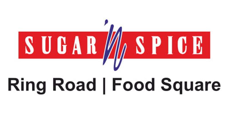 Sugar N Spice Food Square Banner