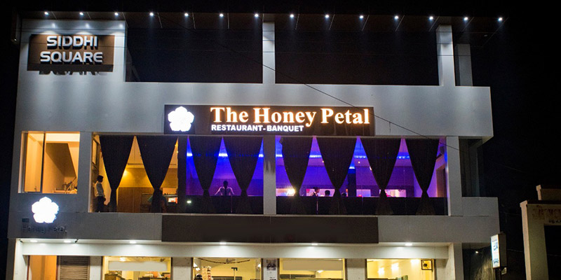 The Honey Petal Banner