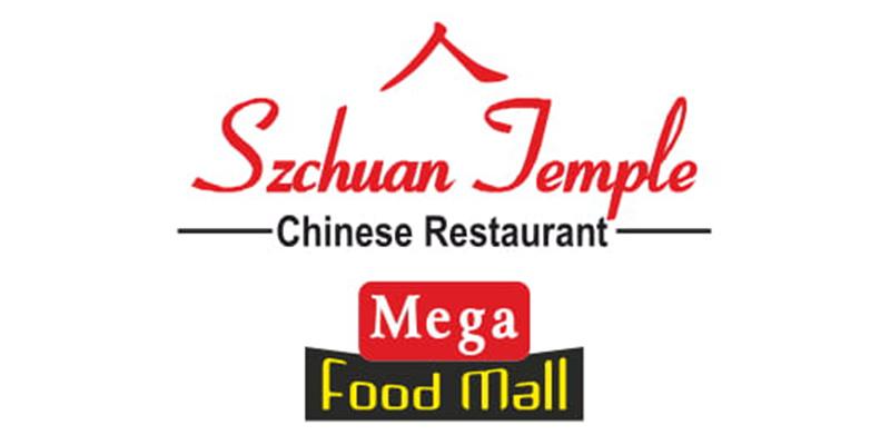 Szchuan Temple - Mega Food Mall Banner