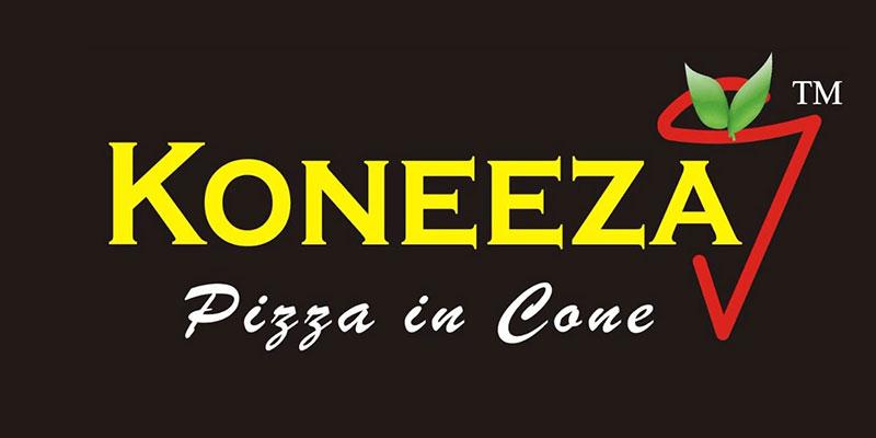 Koneeza Pizza Cone Banner
