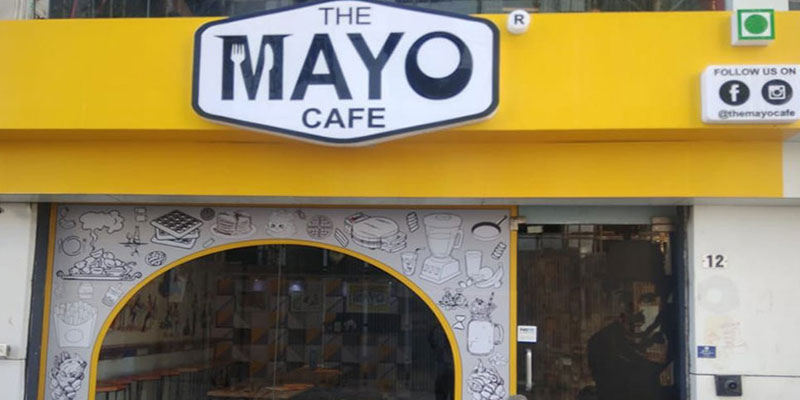 The Mayo Cafe Banner