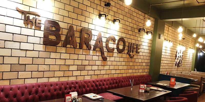 The Cafe Baraco Banner