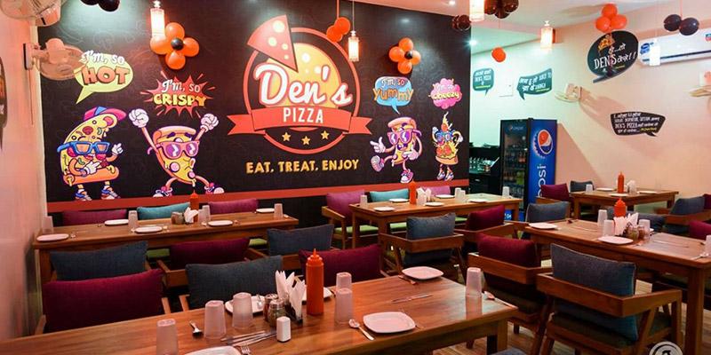 Den's Pizza Banner