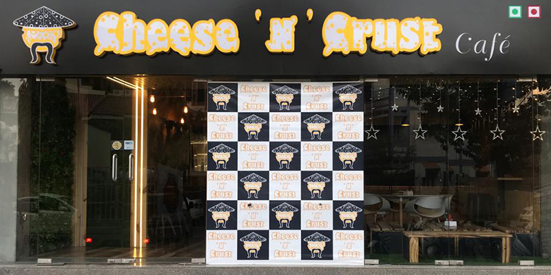 Cheese N Crust Banner