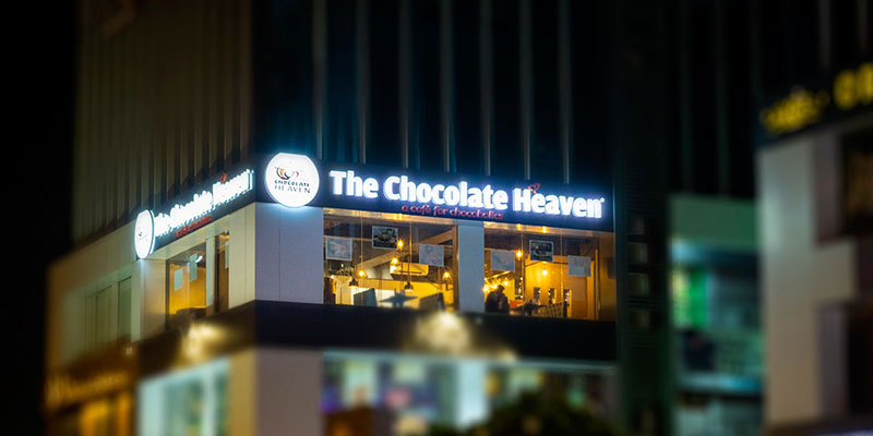 The Chocolate Heaven Banner