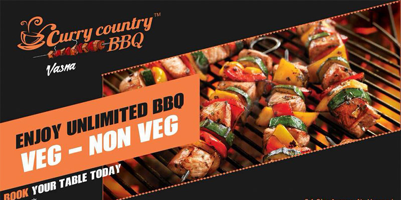 Curry Country BBQ Banner