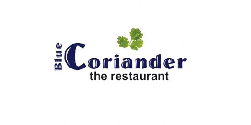 Blue Coriander Banner