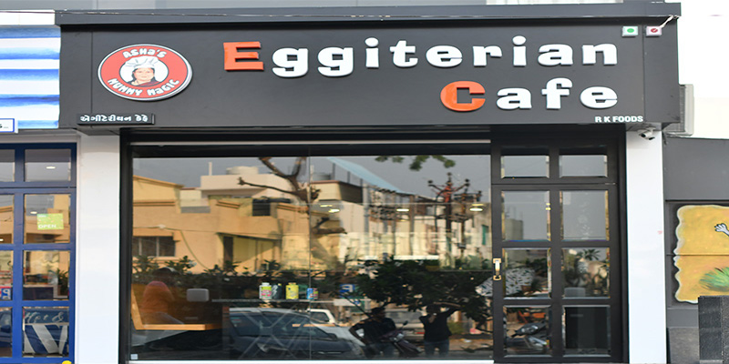 Eggiterian Cafe Banner