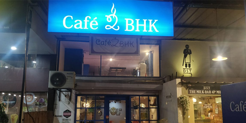 Cafe 2BHK Banner