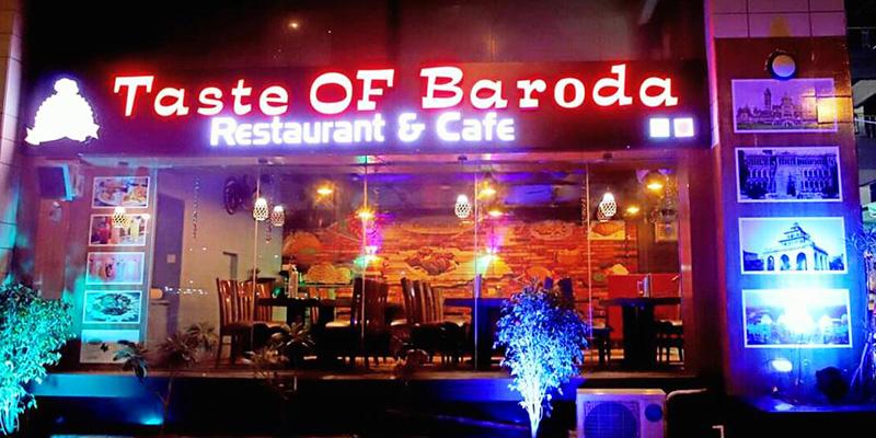 Taste Of Baroda Banner
