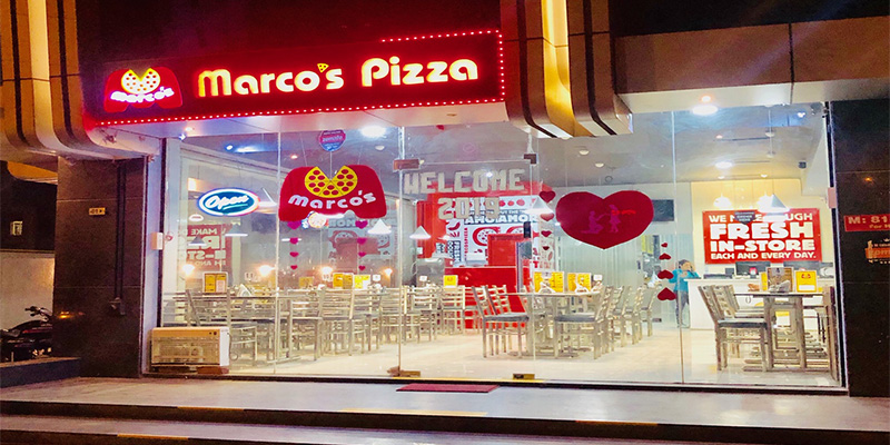 Marco's Pizza Banner