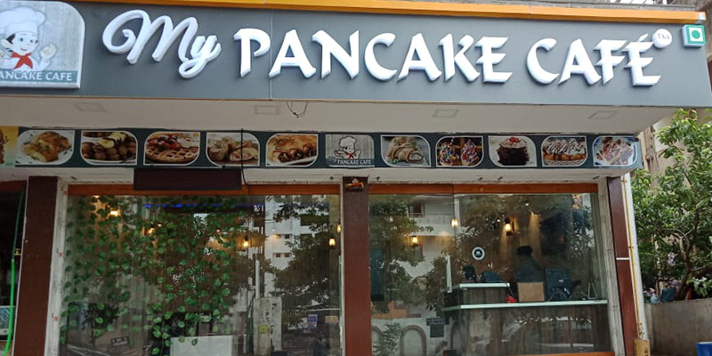 My Pancake Cafe Banner