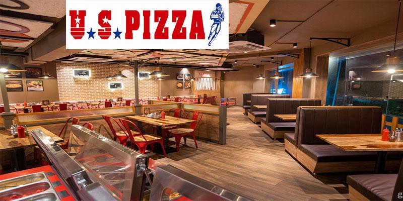 U S Pizza Banner