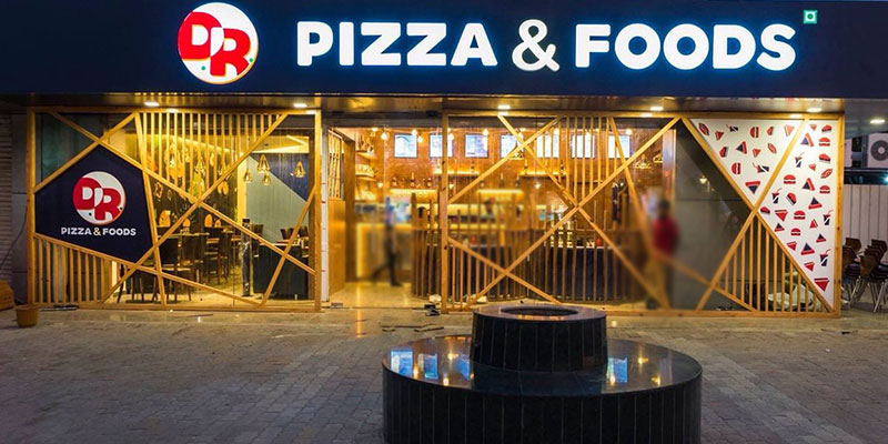 DR Pizza & Foods Banner