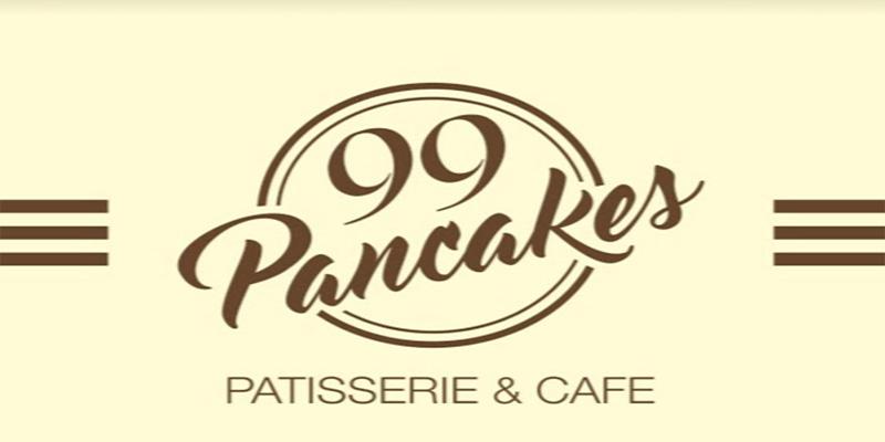 99 Pancakes Banner