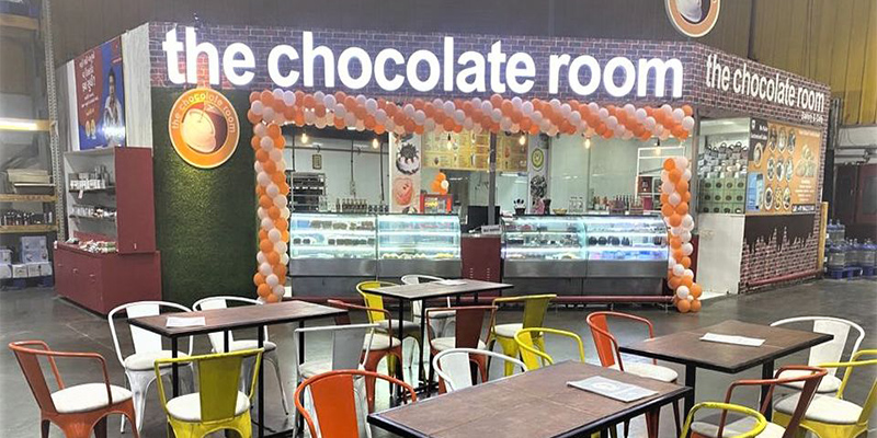 The Chocolate Room Banner