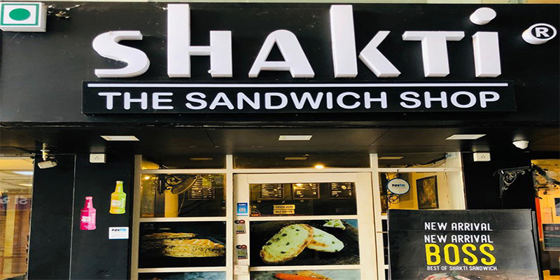 Shakti Sandwich Banner