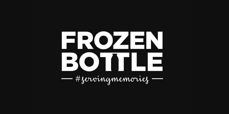 Frozen Bottle Banner