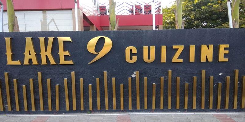 Lake 9 Cuizine Banner