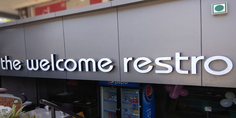 The Welcome Restro Banner