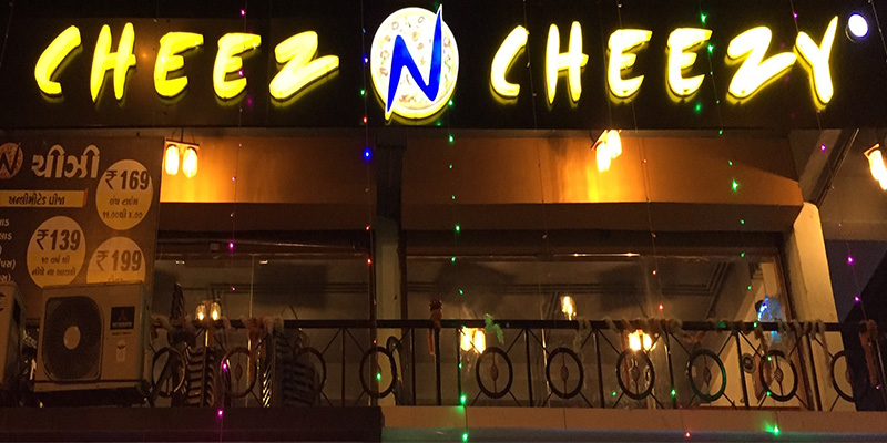 Cheez N Cheezy Pizza Banner