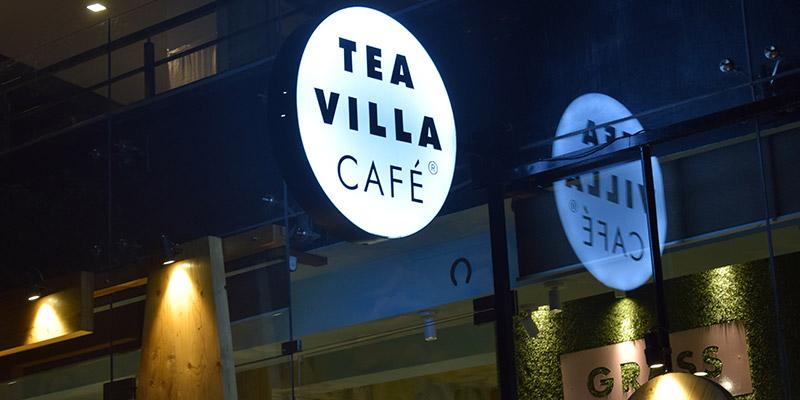 Tea Villa Cafe Banner