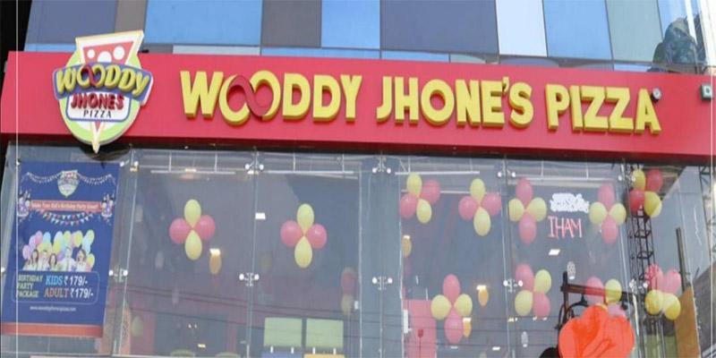 Wooddy Jhones Pizza Banner