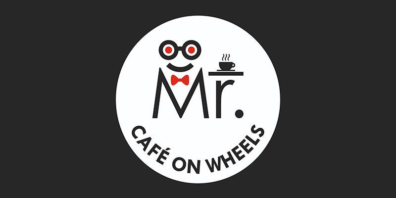 Mr. Cafe On Wheels Banner