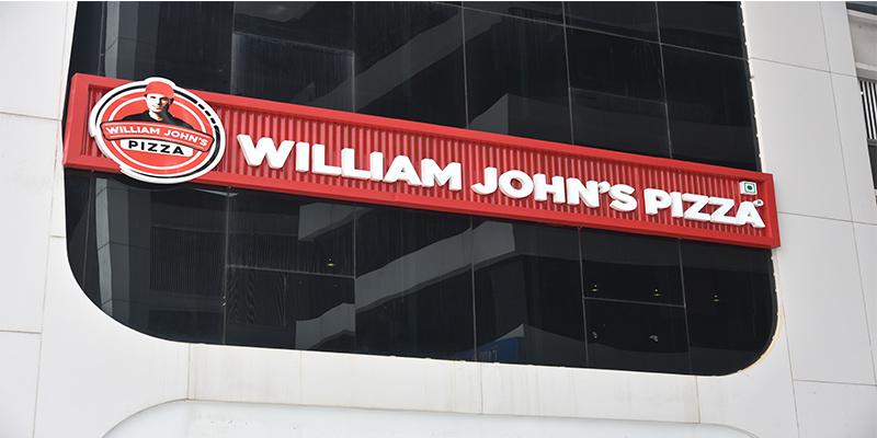 William John's Pizza Banner