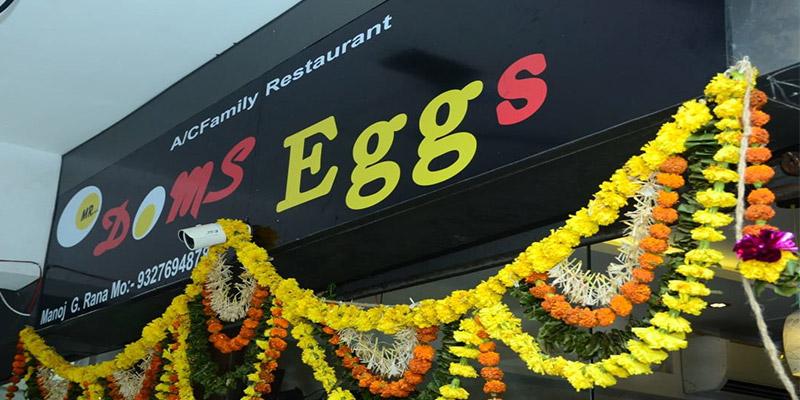 Mr. Doms Eggs Banner