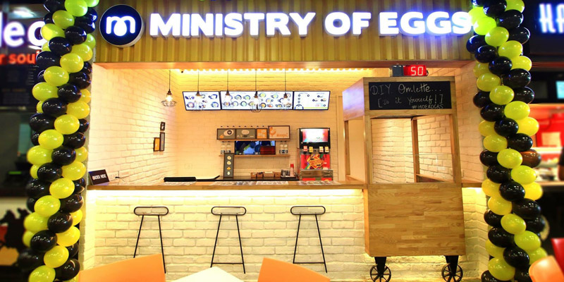 Ministry Of Eggs Banner
