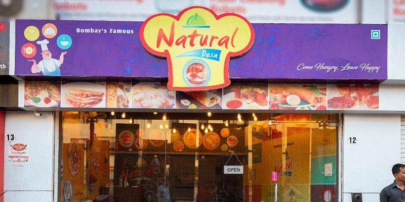 Natural Dosa Banner