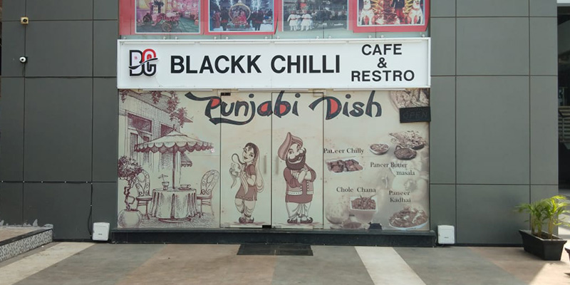 Black Chilli Banner
