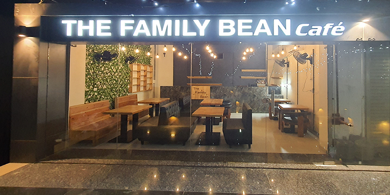 The Family Bean Cafe Banner