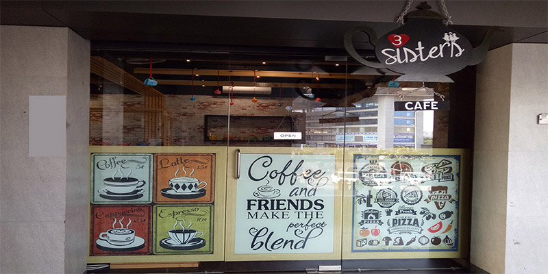 3 Sisters Cafe Banner